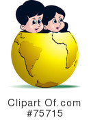 Globe Clipart #75715 by Lal Perera