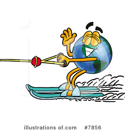 Royalty-Free (RF) Globe Clipart Illustration by Toons4Biz - Stock Sample #7856