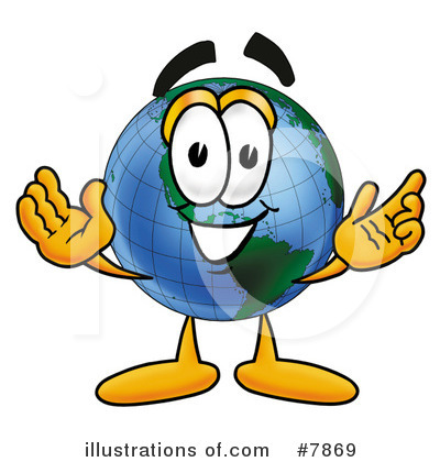 World Globe Clipart #7869 by Toons4Biz