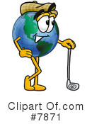 Globe Clipart #7871 by Toons4Biz
