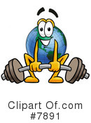 Globe Clipart #7891 by Toons4Biz