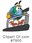 Globe Clipart #7900 by Toons4Biz