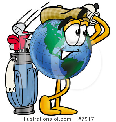 World Globe Clipart #7917 by Toons4Biz