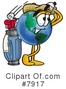 Globe Clipart #7917 by Toons4Biz