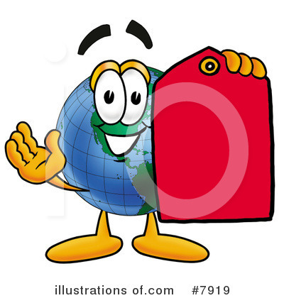 World Globe Clipart #7919 by Toons4Biz
