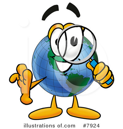 World Globe Clipart #7924 by Toons4Biz