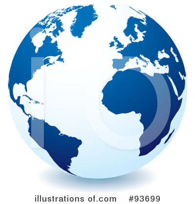 Globe Clipart #93699 by michaeltravers