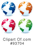 Globe Clipart #93704 by michaeltravers