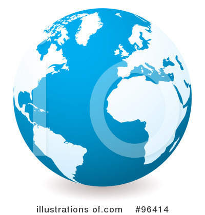 Globe Clipart #96414 by michaeltravers