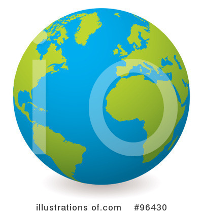Globe Clipart #96430 by michaeltravers