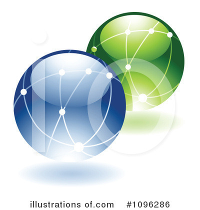 Globe Clipart #1096286 by TA Images