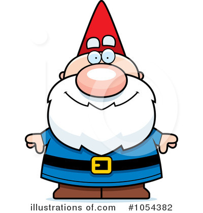 Gnome Clipart #1054382 by Cory Thoman