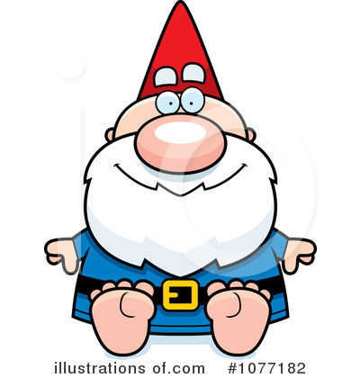 Gnome Clipart #1077182 by Cory Thoman
