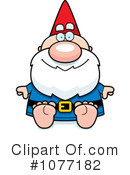 Royalty-Free (RF) Gnome Clipart Illustration #1077182