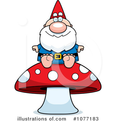 Royalty-Free (RF) Gnome Clipart Illustration by Cory Thoman - Stock Sample #1077183