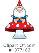 Gnome Clipart #1077183 by Cory Thoman