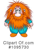 Royalty-Free (RF) Gnome Clipart Illustration #1095730