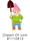 Royalty-Free (RF) Gnome Clipart Illustration #1110813