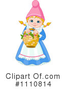Royalty-Free (RF) Gnome Clipart Illustration #1110814