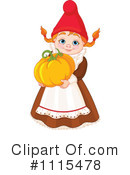 Royalty-Free (RF) Gnome Clipart Illustration #1115478