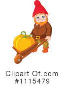 Royalty-Free (RF) Gnome Clipart Illustration #1115479