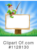 Royalty-Free (RF) Gnome Clipart Illustration #1128130