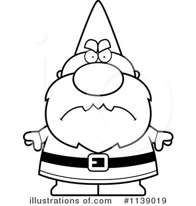 Royalty-Free (RF) Gnome Clipart Illustration by Cory Thoman - Stock Sample #1139019