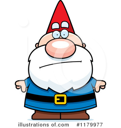 Royalty-Free (RF) Gnome Clipart Illustration by Cory Thoman - Stock Sample #1179977
