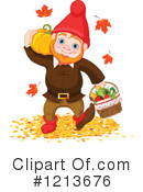 Royalty-Free (RF) Gnome Clipart Illustration #1213676