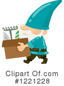 Gnome Clipart #1221228 by BNP Design Studio