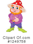 Royalty-Free (RF) Gnome Clipart Illustration #1249758