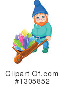 Royalty-Free (RF) Gnome Clipart Illustration #1305852