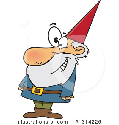 Gnome Clipart #1314226 by toonaday