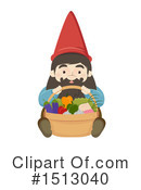 Royalty-Free (RF) Gnome Clipart Illustration #1513040