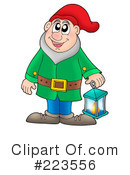 Royalty-Free (RF) Gnome Clipart Illustration #223556