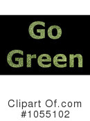 Royalty-Free (RF) Go Green Clipart Illustration #1055102