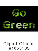 Royalty-Free (RF) Go Green Clipart Illustration #1055103