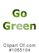 Royalty-Free (RF) Go Green Clipart Illustration #1055104