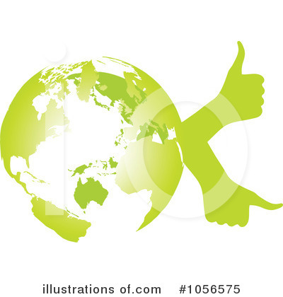 Royalty-Free (RF) Go Green Clipart Illustration by Andrei Marincas - Stock Sample #1056575