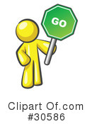 Go Sign Clipart #30586