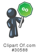 Go Sign Clipart #30588