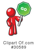 Go Sign Clipart #30589