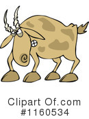 Royalty-Free (RF) Goat Clipart Illustration #1160534