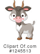 Goat Clipart #1245513 by Pushkin