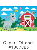 Goat Clipart #1307825 by visekart