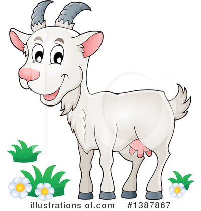 Goat Clipart #1387867 by visekart