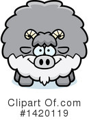 Goat Clipart #1420119 by Cory Thoman