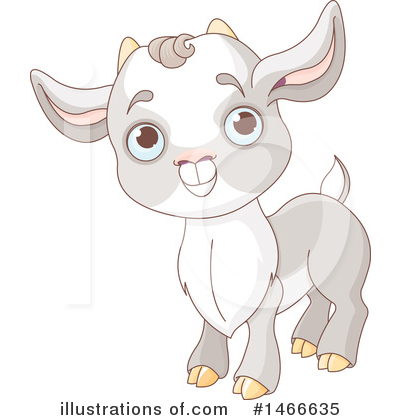 Goat Clipart #1466635 by Pushkin