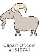 Goat Clipart #1510741 by lineartestpilot