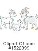 Goat Clipart #1522399 by Alex Bannykh